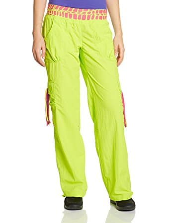 Click on the image to check out the Zumba Cut Me Loose cargo pants on Amazon.