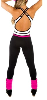 Click on the image to check out this one piece Zumba outfit on Amazon!