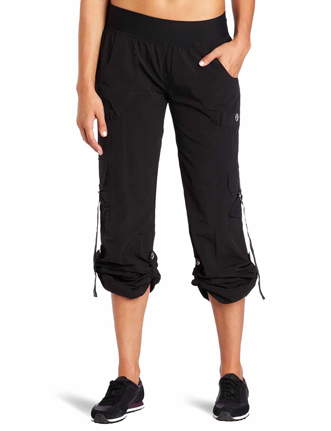Click on the image to check out the Zumba Feelin' It Samba Pants on Amazon.