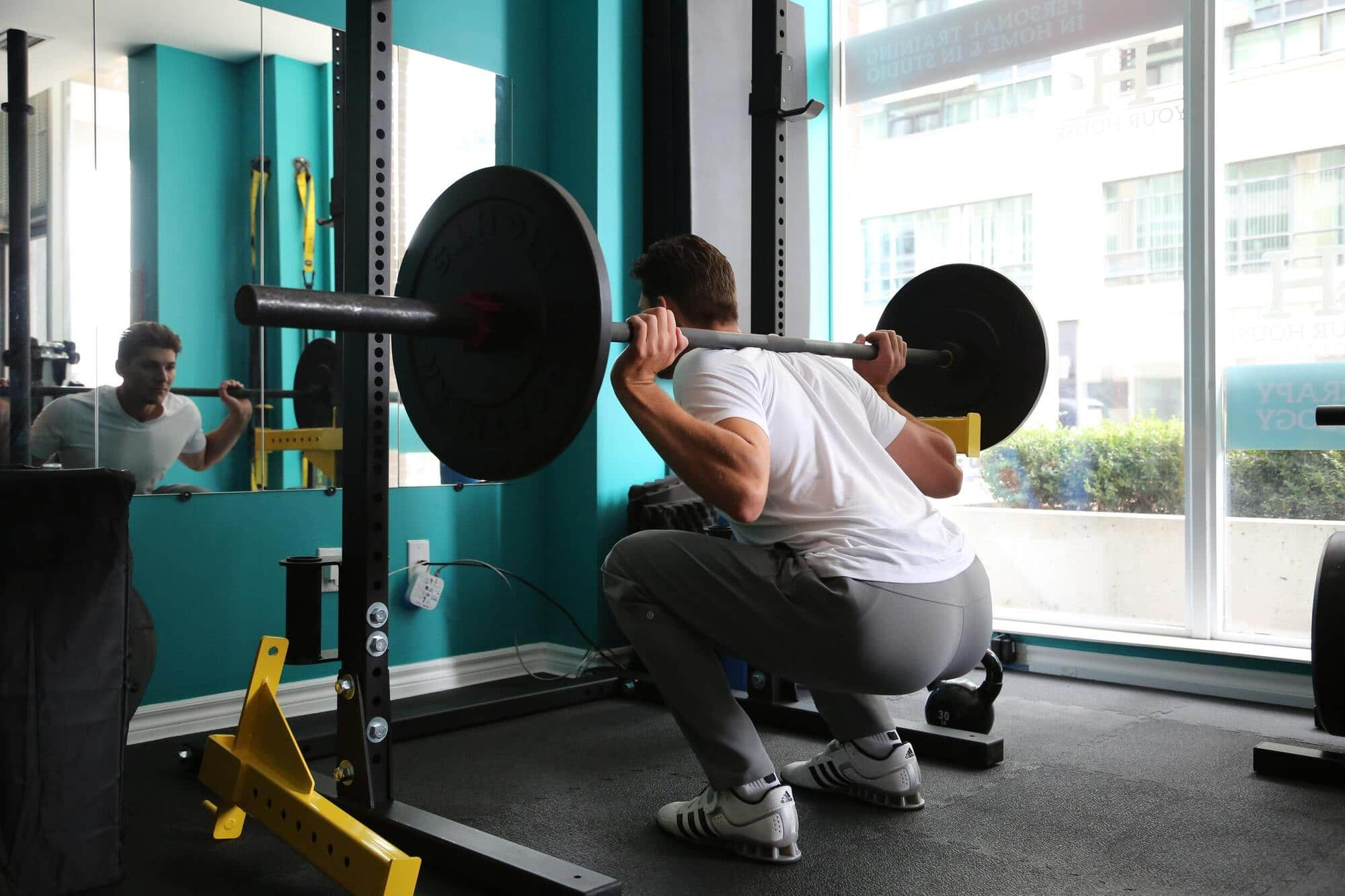 squat racks with pull-up bars